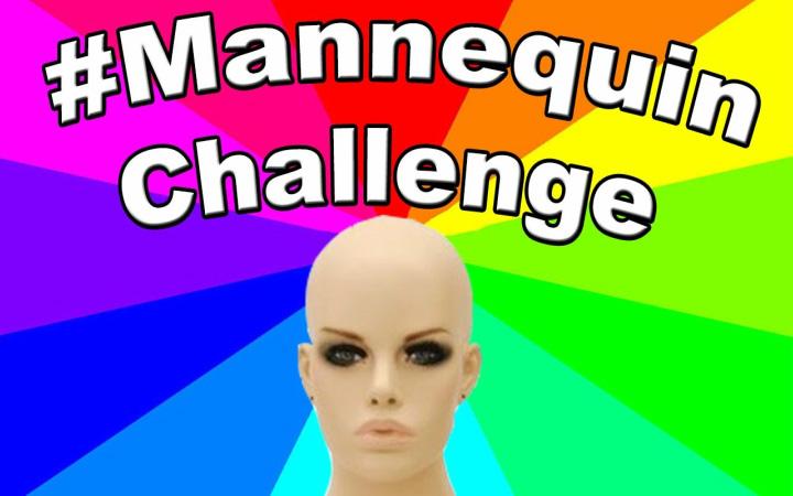 #mannequinchallenges