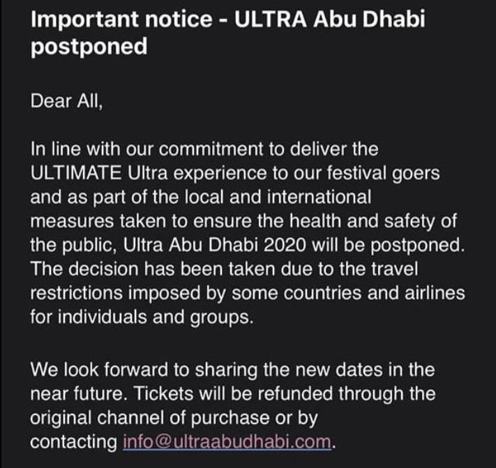 Ultra Abu Dhabi